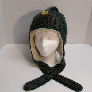 Pistil Knit Trapper Beanie Hat